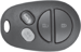 Ilco Unican Corporation ILCRKE-TOY-4B1 TOYOTA 4 BUTTON REMOTE KEYLESS ENTRY