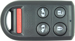 Ilco Unican Corporation ILCRKE-HON-5B1 HONDA ODYSSEY 5 BUTTON REMOTE