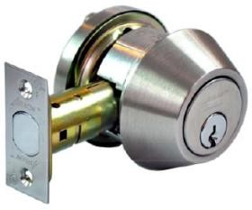 ARROW LOCK DBX61-630-CSKA4 ADJ DEADBOLT SINGLE CYL GRADE2 SCH C