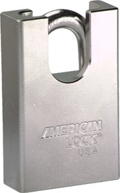 American Lock AMAA748KD PADLOCK STAINLESS SHROUDED