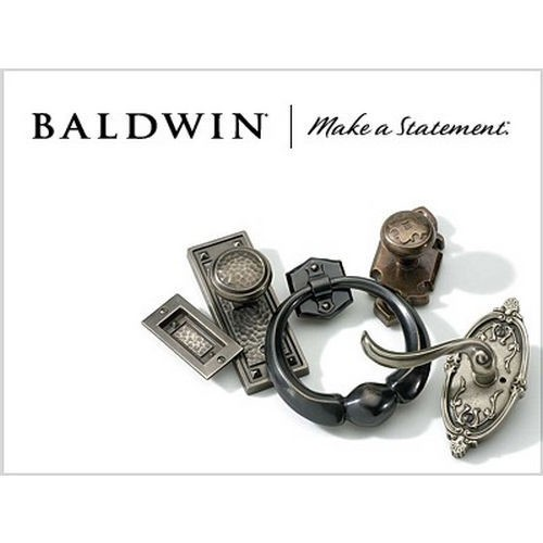 Baldwin 85396056BLENT Left Hand Single Cylinder Palm Springs 3/4 Evolved Bluetooth Handleset Complete with Interior Lever Lifetime Satin Nickel Finish
